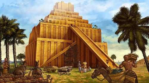 バベルの塔 イラスト