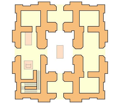 バベルの塔 内部構造