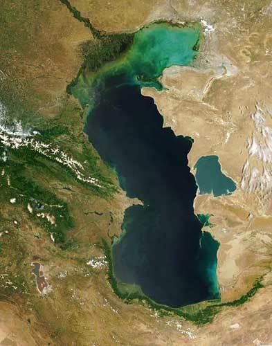 世界一大きい湖
