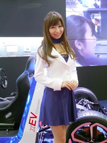 モーターショー2013 三菱電機 コンパニオン
