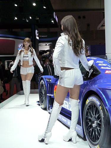 モーターショー2013 スバル コンパニオン